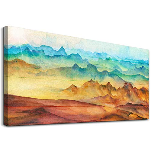 Large Canvas Wall Art For Living Room Bedroom Decoration Hang Pictures Abstract Mountain Paintings Office Wall Decor Artwork Kitchen Home Decoration Prints Inspirational Wall Art Family Canvas Art