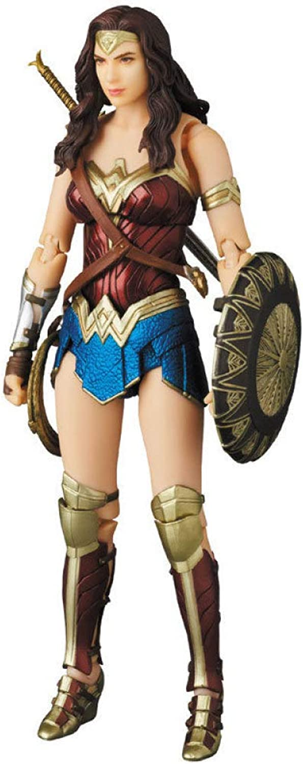 DC Comics Wonder Woman Super Hero Model Boxed Statue Justice League Movable Doll Height is About 15 cm,Onecolor15cm