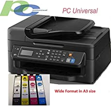 PC Universal Professional Wide Format A3 Sublimation Printer with Refillable Cartridges for DIY T-Shirt, Mugs etc. Used with Press Machine to Make Your Customized Gifts for Any Special Occations