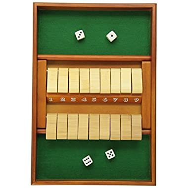 Double Sided 9 Number Shut The Box