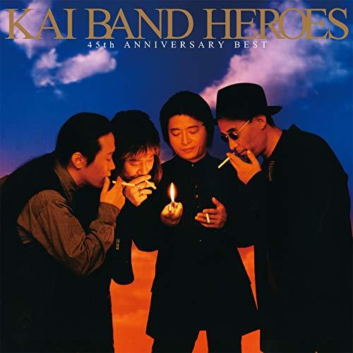 [Album]KAI BAND HEROES -45th ANNIVERSARY BEST- – 甲斐バンド[FLAC + MP3]