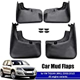 4pcs Guardabarros For For VW Tiguan MK1 2008-2015 Car Fender Barro Protección Contra Salpicaduras Flaps Guardabarros