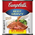 Campbell's Gravy Beef 13.8 Oz Can, Pack of 12