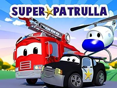La Super Patrulla en Auto City