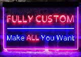 ADVPRO [Custom. Dual-Color] LED Neon Sign, Your Own...