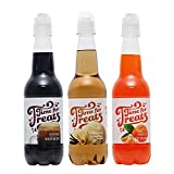 Time for Treats 3-Pack Vanilla Cream, Root Beer, Orange Cream Flavored Syrups VKP1106