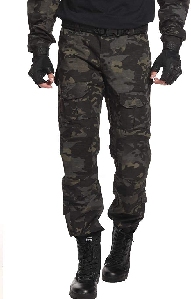 TRGPSG Men's Waterproof Hiking Brand new Military Product Scratch-Resistant Pants