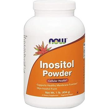 NOW Supplements, Inositol Powder, Neurotransmitter Signaling*, Cellular Health*, 1-Pound