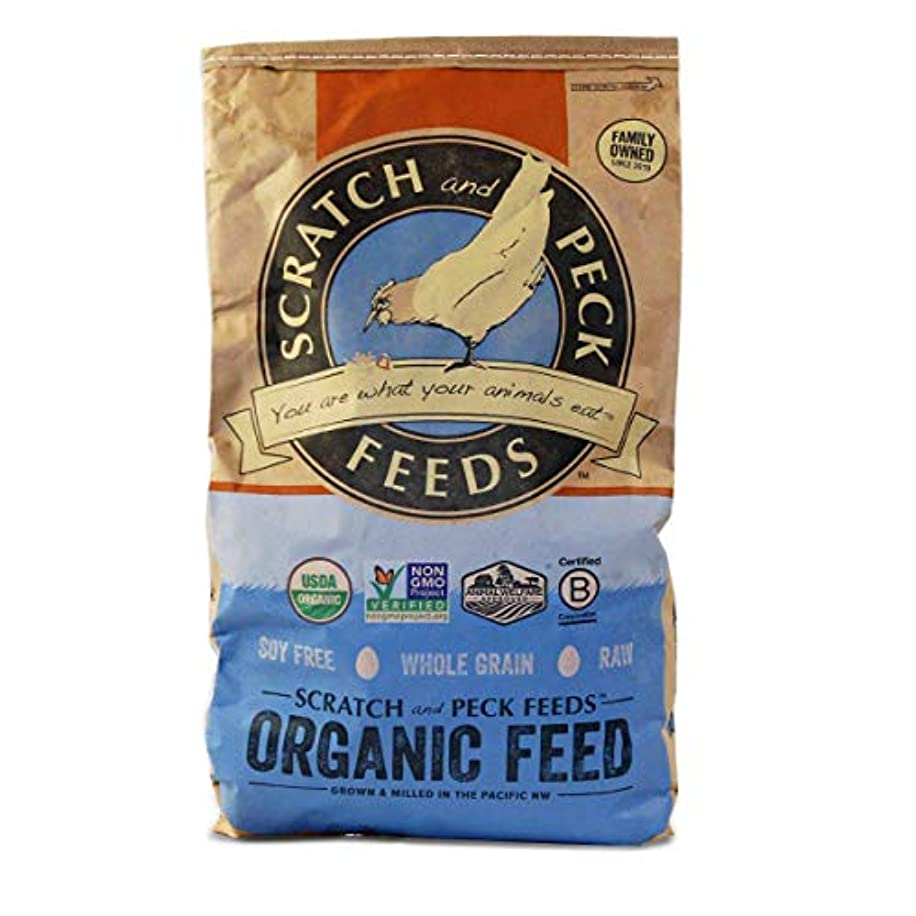 Organic Mini Pig Adult Feed - 18lbs - Non-GMO Project Verified - Scratch and Peck Feeds