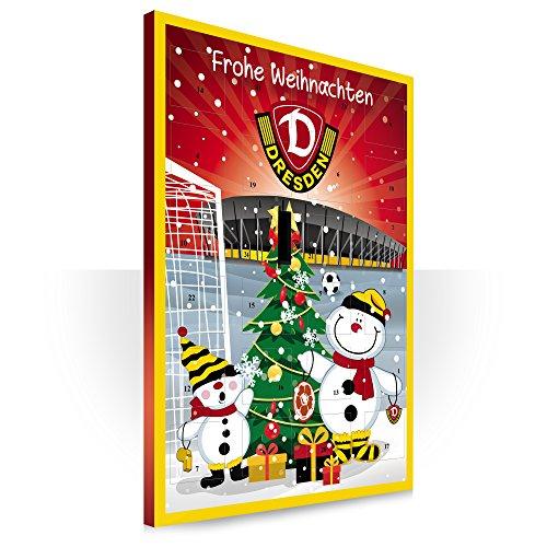Dynamo Dresden Adventskalender mit feinster Vollmilchschokolade (120g)