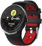 Reloj inteligente con monitor de actividad física, contador de pasos 1.3 TFT a color IP67 impermeable y antipérdida Bluetooth reloj deportivo para hombres y mujeres