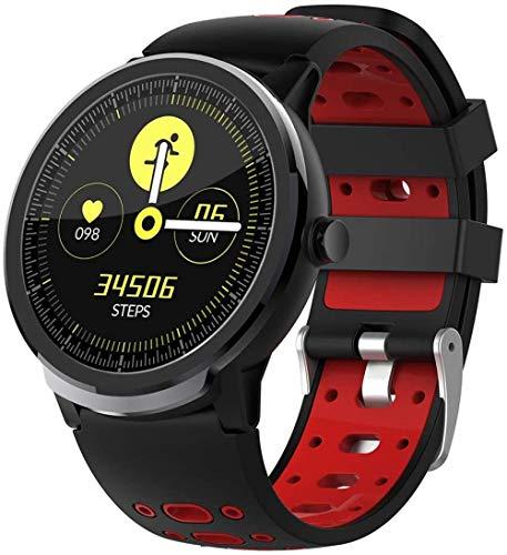 Reloj inteligente con monitor de sueño de frecuencia cardíaca, contador de calorías, IP67, impermeable, antipérdida, Bluetooth, reloj de pulsera deportivo para hombres y mujeres