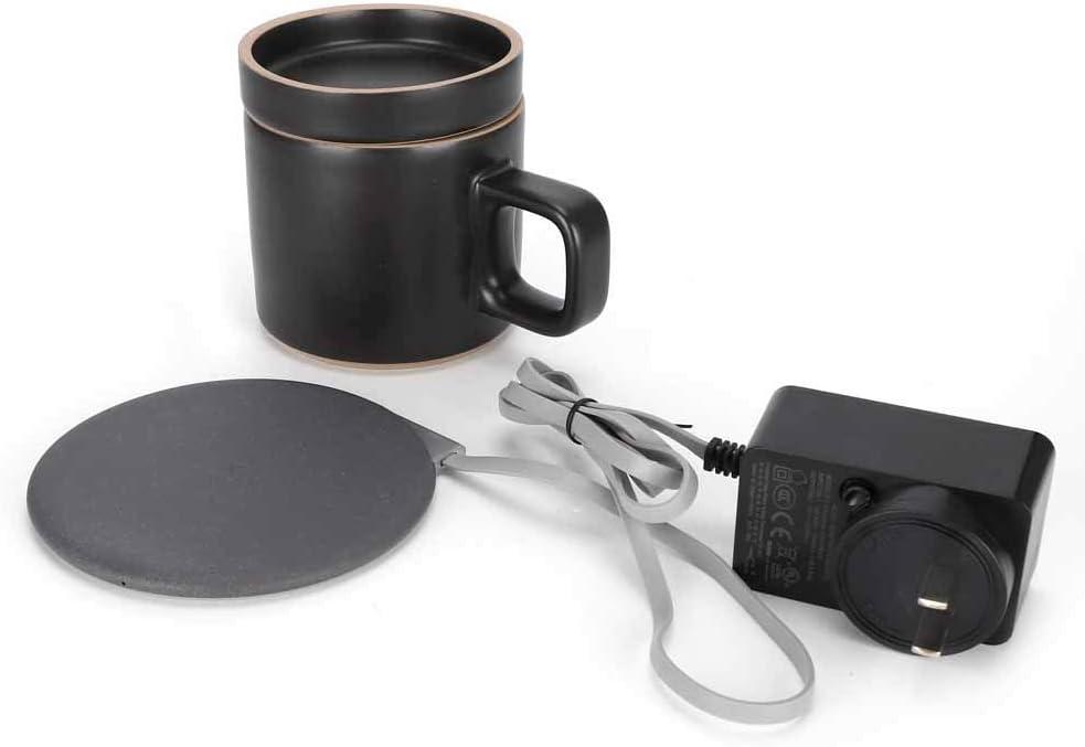 Ranking TOP4 YYQTGG Popular product Black Coffee Mug Warmer Ceramics 12x8.5x9cm Made 12V-2A