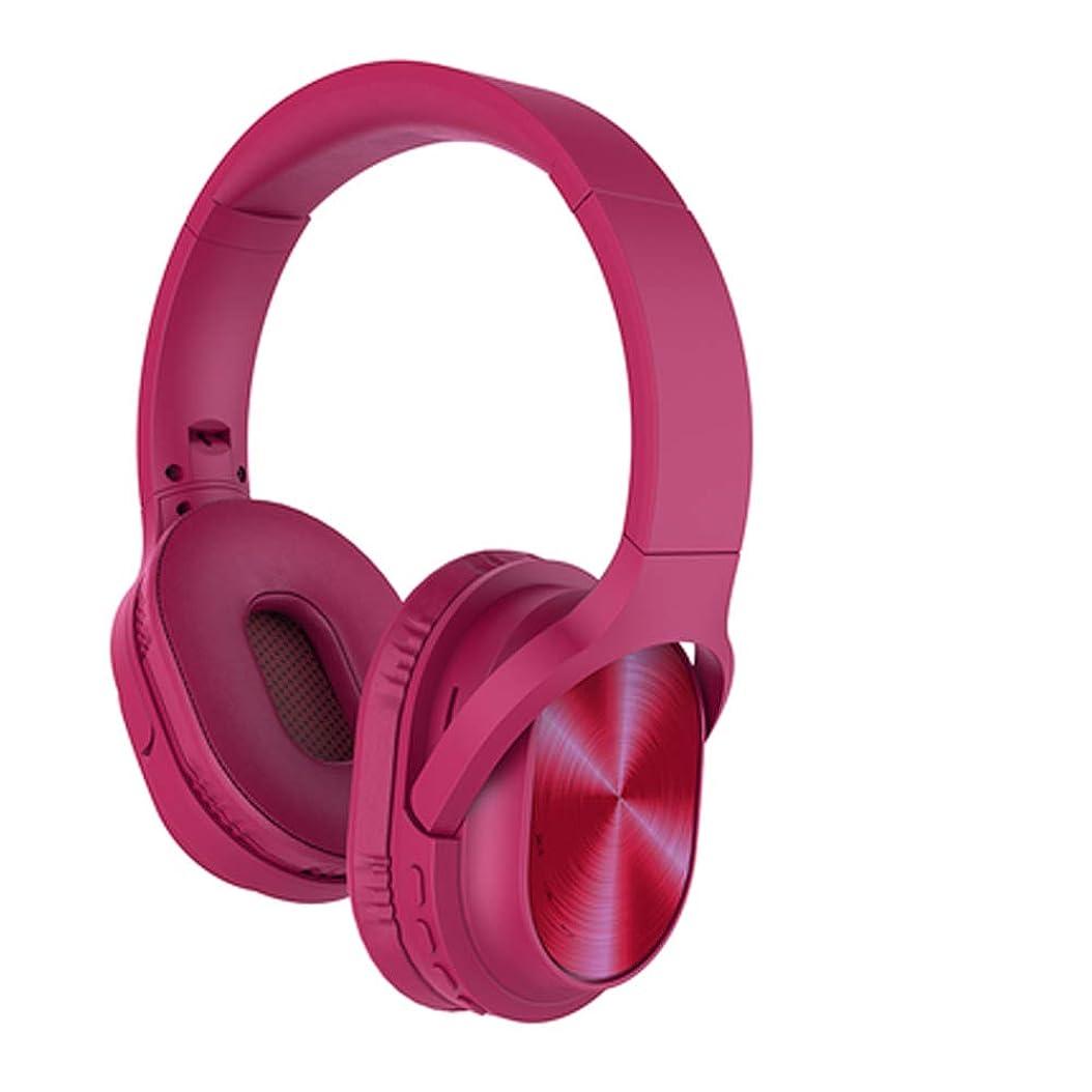 話前に聴くノイズキャンセリングヘッドフォンワイヤレスBluetooth、耳に折りたたみ式ワイヤレスおよび有線ステレオヘッドフォン、マイク、PS4 TV PC用快適なプ