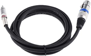Baoblaze オーディオ コンバータ アダプタ ケーブル コード RCAオス→XMLメス 柔軟性 変換 全3サイズ - 150cm