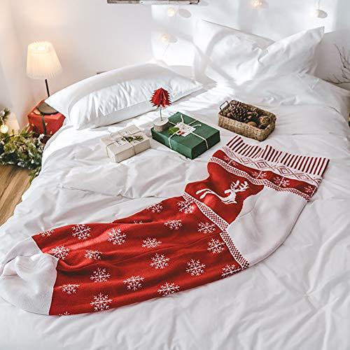 Minions Boutique Weihnachtsstr¨¹mpfe Kinder Schlafsack tragbare gestrickte Faden Decke weiche warme Sofa Couch Auto Bett werfen Decken