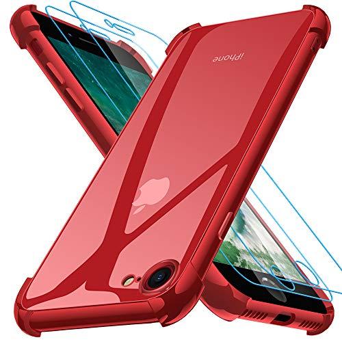 Iphone Se 2020 Rojo Marca Joyguard