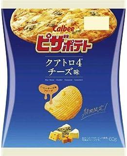 カルビー ピザポテト クアトロチーズ味 60g