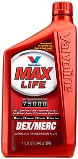 Valvoline VV324 1 Quart MaxLife Full Synthetic Multi-Vehicle Automatic Transmission Fluid, 32 fl. oz (6)