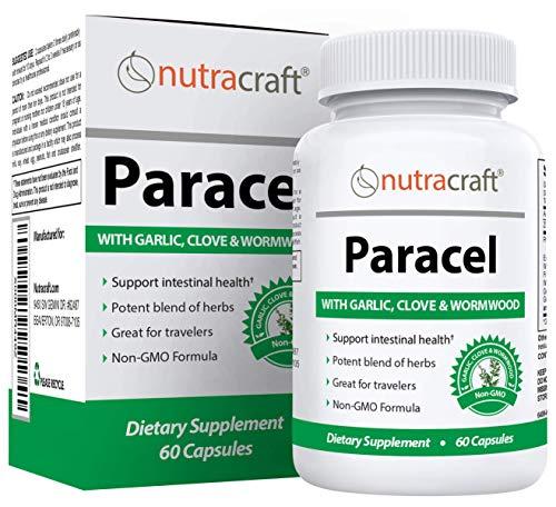Paracel Intestinal Guard | Intestinal Cleanse for Humans | Wormwood, Black Walnut, Clove, PAU D'Arco, Echinacea, Goldenseal | 60 Non-GMO Capsules