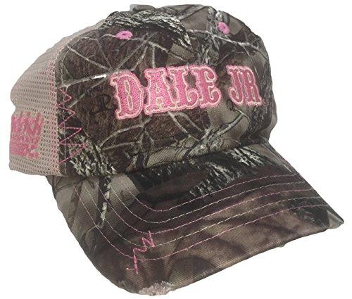 Dale Earnhardt Jr. Damen Camo Mesh Ripped Adjustable Hat