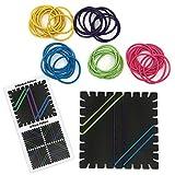Eureka Classroom Supplies Pattern Building Stretch Band Kit, 8 pc