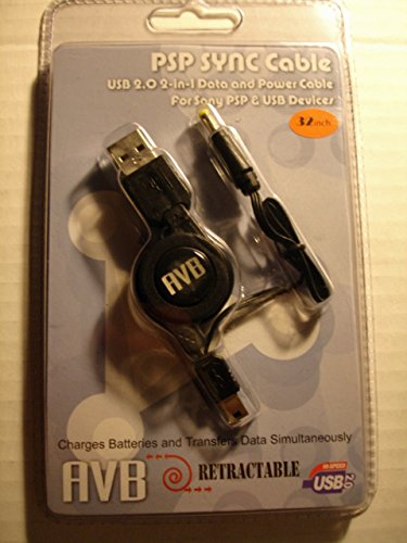 AVB PSP Sync Retractable Cable by American Anko