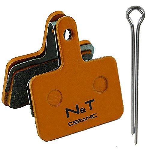 Noah And Theo NT-BP004/CR Bremsbeläge für Tektro HDC 300 HD E500 E520 E525 E530 E715 MD M300 M500 C400 Kompatibel mit A10.11 E10.11 P20.11