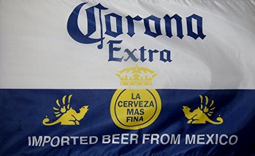 Corona Extra Beer Flag 3' X 5' Deluxe Indoor Outdoor Banner