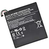 Backupower Bater¨ªa para AP14F8K 1ICP4/101/110 Tablet PC AKKU Batterie Kompatibel mit Acer Iconia Tab A1-850 B1-810 B1-820 W1-810 Series 3.8V 4550mAh