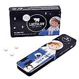 LactoJoy Pastillas de Lactasa I Kids Edition para Niños I Tratamiento de Comprimidos para Intolerancia a la Lactosa I Digestión de la Leche, Queso I Capsulas de Enzimas Digestivas I Vegano I 45 Caps