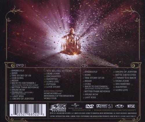 Speak now world tour live (+ dvd)