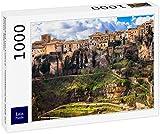 Lais Puzzle Panorama de Cuenca - Ciudad Medieval sobre Rocas, España 1000 Piezas