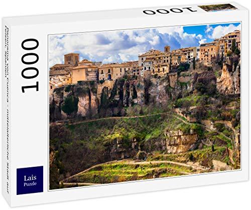 Puzzle Panorama de Cuenca   Ciudad Medieval sobre Rocas, España 1000 Piezas