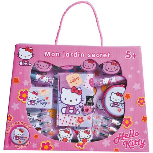 Alpa - A1102414 - Mon Jardin Secret - Hello Kitty