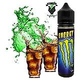 E-Liquid ENERGY GREEN | 60ML TPD | ElecVap | Sin Nicotina: 0MG | E-Liquido para Cigarrillos Electronicos - E Liquidos para Vaper 70/30