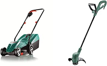 Bosch Rotak 32R Electric Rotary Lawnmower with 32 cm Cutting Width & Home and Garden 06008C1J70 EasyGrassCut 26 Electric G...