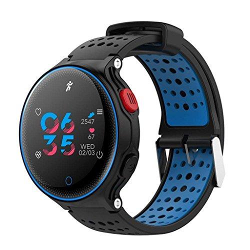 Yuanyuanliu X2 Schermo a Colori Intelligente Orologio Bluetooth Cellulare Intelligente Usura Cellulare monitoraggio della frequenza cardiaca pedometro Braccialetto Sportivo Impermeabile