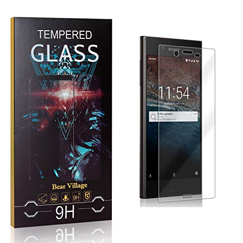 99.99/% Clarity Tempered Glass Screen Protector 2 Pack 9H Hardness Screen Protector Glass for Sony Xperia XZ Bear Village Screen Protector for Sony Xperia XZ