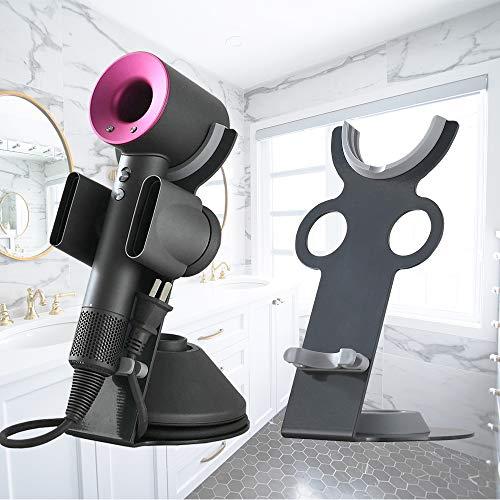 Supporto magnetico per asciugacapelli per Dyson Supersonic, diffusore e due ugelli con staffa di stoccaggio per dock organizer