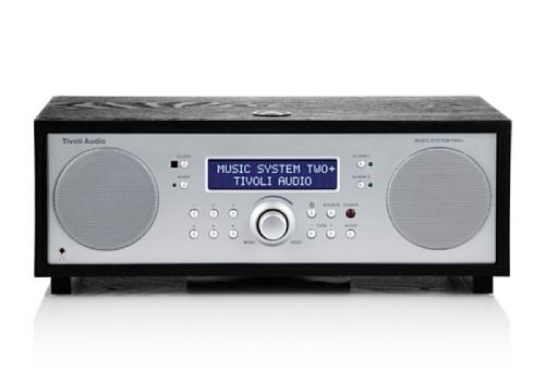 Tivoli MSY2P-1488-EU Two+ Bluetooth 2.1 Model Music System (DAB+/UKW-Tuner) schwarz/Silber