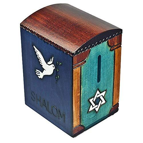 Shalom Dove Tzedakah Keepsake Box Piggy Bank Judaica Hanukkah Gift
