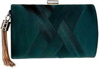 Shoulder Bag Women's Clutches Messenger Bag Cross-Body Bags Mini Shoulder Bag (Color : Pink) Handbag Clutch (Color : Green)