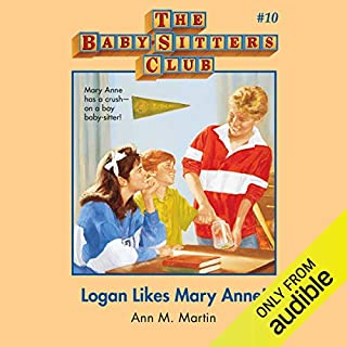Logan Likes Mary Anne! audiobook cover art