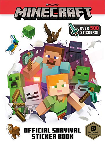 Minecraft Official Survival Sticker Book