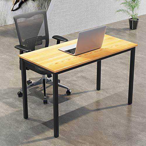 Soges - Scrivanie per computer, 120 x 60 cm, per casa, ufficio, studio, scrivania, postazione di lavoro, tavolo da allenamento, tavolo multifunzione, tavolo da pranzo, S1-GCP2AC3-120 TB