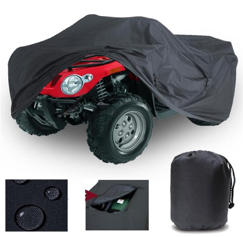 GREAT QUALITY HEAVY DUTY 4 WHEELER ATV COVER FITS Kazuma Cougar 250 4M QUAD ALL TERRAIN VEHICLES 2003-2005. STRONG ALL WEATHER PROTECTION.