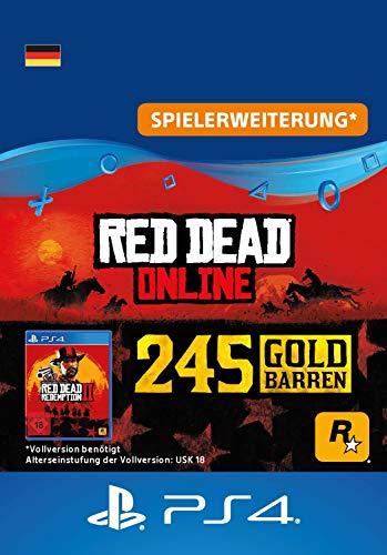 Rockstar Games Red Dead Redemption 2: 245 Goldbarren (DLC) - PS4 Download Code