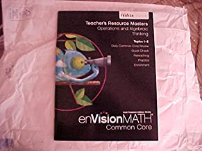 eVision Math Common Core Grade 4 Teacher's Resource Masters Operations and Algebraic Thinking Topics 1-2 realize Edition
