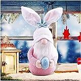 HOHOFAN Handmade Lucky Guard Gonks Gnomes mano mano uovo di Pasqua Home Pasqua Pasqua regali di Pasqua per bambini e amici (A) (#2)